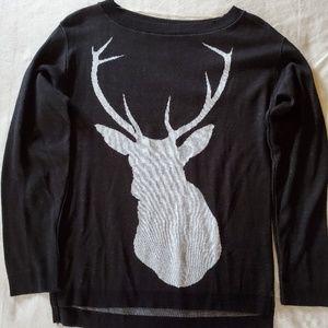 Black Deer Sweater